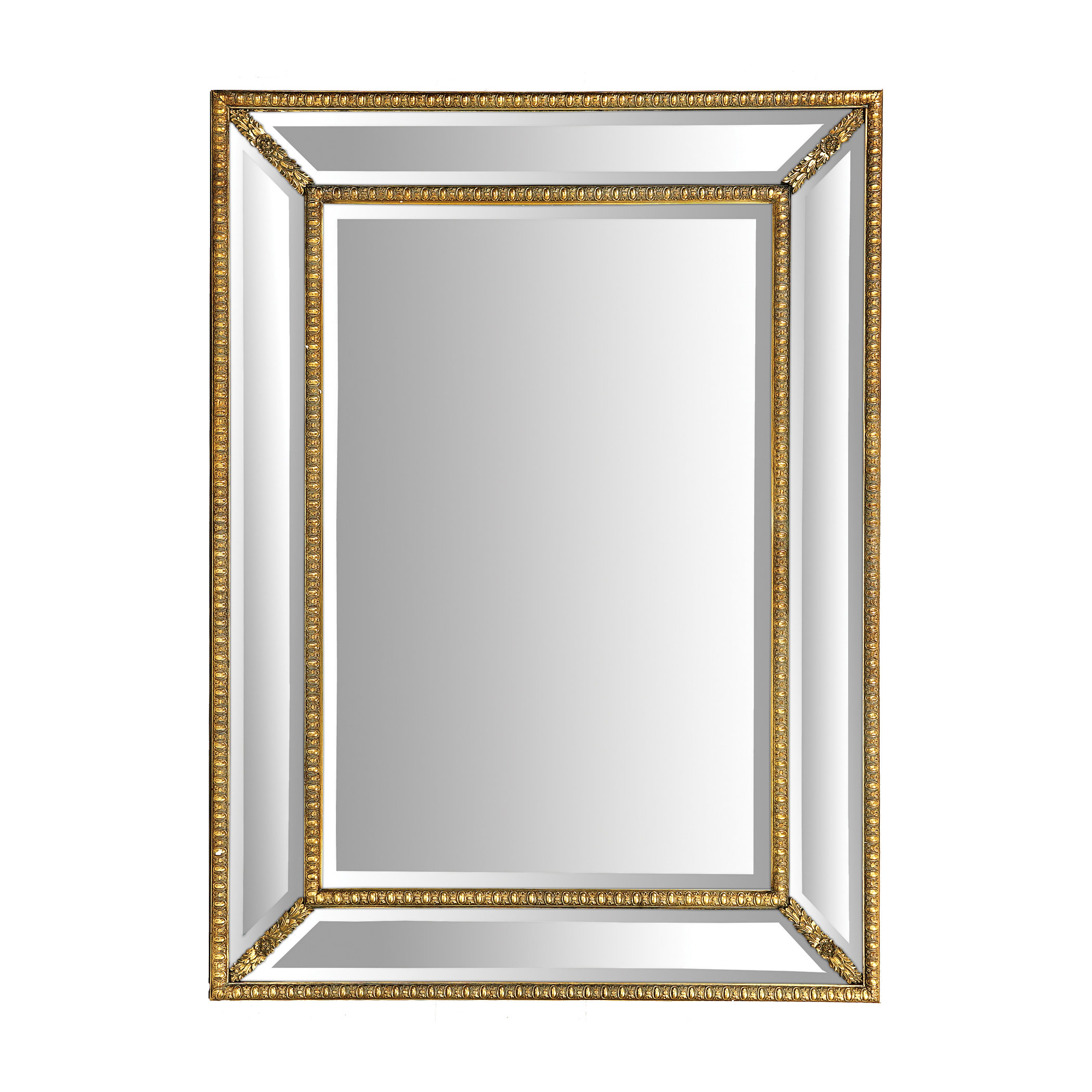 Gold Foyer Mirror : Beverly foyer rectangular gold mirror